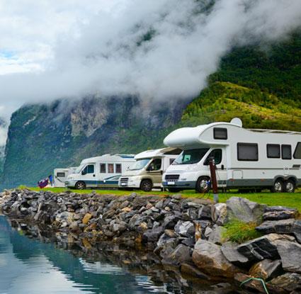 Caravans for globetrotters
