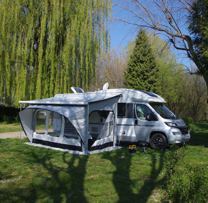 The extensible canvas caravan